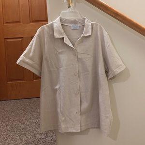 Tops - Linen button down shirt